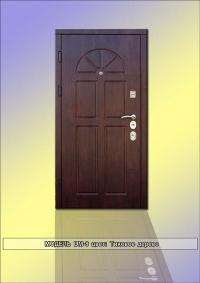"""Елітні броньовані двері """"DM-8"""" колір: Тікове дерево"""