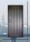 """Бюджетні вхідні двері """"DG-6"""" колір: Венге"""
