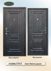 """Бюджетні вхідні двері  """"Gardian 15.12"""" Модель:DG-5  Тікове дерево"""
